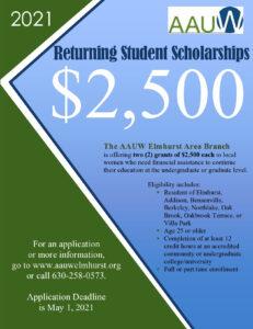 2021 scholarship flyer